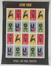 2016 Star Trek USPS Post Office Forever Stamps  - $18.99