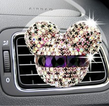 Car Air Freshener Perfume Crystal Decor Auto Fr... - $4.99 - $5.40