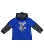 Garanimals Size 4T Toddler Boys Hooded Blue Top - $1.99