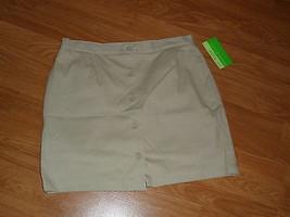 Allyson Whitmore Golf Skorts Size 10P Stretch Tan Nwt - $17.94