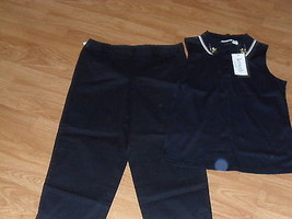 Talbots Petites Capri Size 8 Black & Kenneth Too Size M Black Nwt - $27.99
