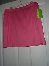 Allyson Whitmore Golf Skorts Size Pm Stretch Bogy Pink Nwt - $17.94
