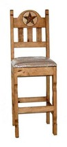 "30"" Marble Star Bar Stool With Padded Cushion - $222.75+"