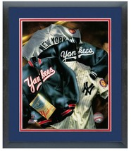 "11"" x 14"" Framed & Matted New York Yankees Cooperstown Collage Photo - $43.95"