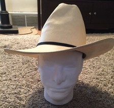 "Resistol ""Self Conforming"" 4 Star Genuine Shantung Panama Cream Cowboy S... - $29.99"