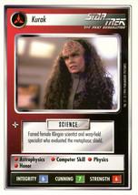 Star Trek CCG - Kurak - $2.39