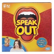Hasbro Speak Out Board Game New Family Fun Games  - $32.97