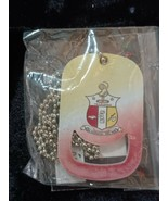 KAPPA ALPHA PSI Fraternity Dog Tag Necklace Neck Chain Can opener 1911 - $19.60