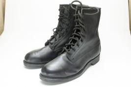 Steel Toe Work Boots 8.5 Black Men's - $48.00