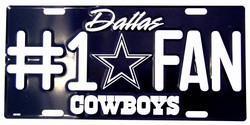 Cowboys 1 fan tag