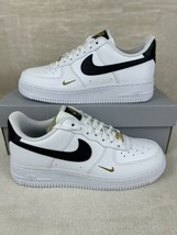 New Nike Air Force 1 Low White Metallic Gold Women Size 8 Sneakers CZ027... - $138.57