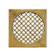 Chinese Handmade Rustic Flower Star Geometric Wood Panel cs1468 - $1,180.00