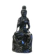 Vintage Chinese Rosewood Tanwood Kwan Yin Statue cs704E - $4,800.00