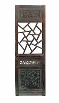 Vintage Chinese Lettuce Pattern Wood Panel Decor vs618-1 - $850.00