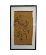 Vintage Chinese Kesi Tapestry Framed Two Sides Wall Art cs657E - $4,600.00