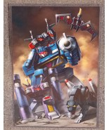 Transformers Soundwave Glossy Print 11 x 17 In Hard Plastic Sleeve - $24.99