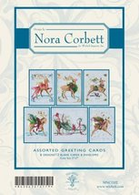 Christmas Eve Couriers Nora Corbett Notecards set 12 cards with envelopes - $12.60