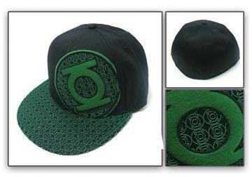 Green Lantern: Emblem Mini Logo Mesh Cap Brand NEW! image 3