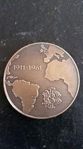 medal, Bank Italo -Belgue  By sculpter jules Fonson - $64.35