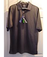 PGA Tour Golf Polo Shirt Size M Short Sleeve Caviar Black   NWT - $24.99