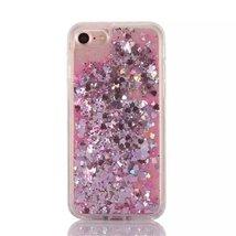 Liquid Case for Galaxy A710,Creative Design Shiny Glitter Floating Quick... - $8.47