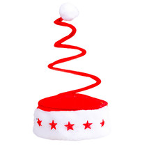 2017 Best Sale Christmas Party Santa Hat Red Cap for Santa Claus Costume... - $11.33