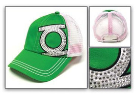 Green Lantern: Logo Snap-back Juniors Baseball Cap Brand NEW! - $19.99