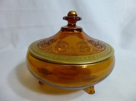 Cambridge Glass Co Pattern Vintage Lidded Candy... - $197.99