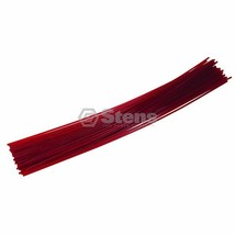 "Red Fire Trimmer Line Fits 095 12"" Pre-Cut - $10.26"