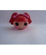 Lalaloopsy Mini Red Hair Tippy Tumblelina Doll Head Pencil Topper - $1.14