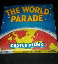 The World Parade Castle Films Movie 8 MM 237 Rome Vintage App 200 Feet - $14.99