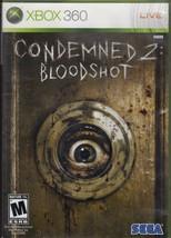 XBOX  360 - Condemned 2 Bloodshot - $6.95