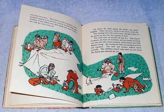 1955 Children's Book The Shining Bird Wanda Tolboom Inuits
