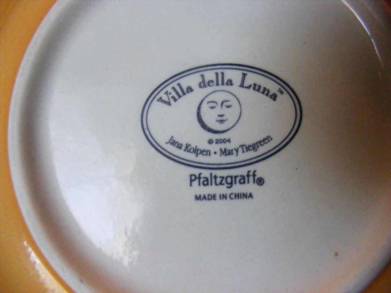 Pfaltzgraff Villa Della Luna Appetizer Plates - Set of 2