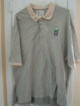 IZOD International Tour Club Men's 2XL Golf/Polo Shirt Short Sleeve 100%... - $7.93