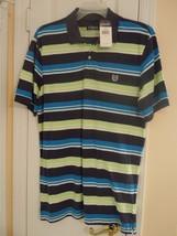 CHAPS Men Sz L S/S Multi-Color GOLF/POLO SHIRT NWT $45.00 (60% OFF) Only... - $17.82