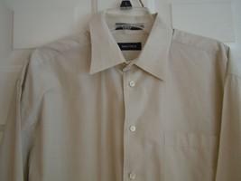 NAUTICA Mens 16-1/2 L/S Shirt 100% Cotton - $7.91