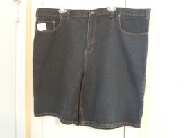 Faded Glory Men's Size 46 Blue Denim Shorts 100% Cotton (NWT) ONLY $9.99  NEW ! - $9.89