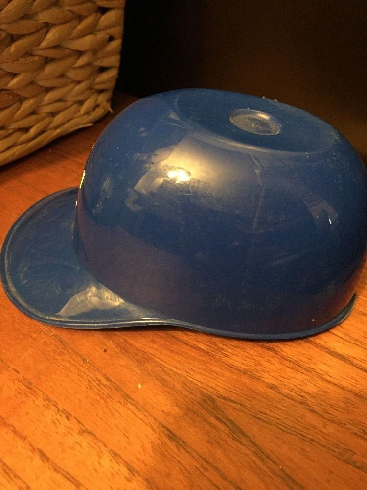 Mini Plastic Baseball Sports Hat Helmets Ice Cream Bowl