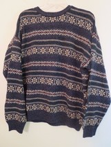 Woolrich Mens Size L Pullover Sweater Multi-Color ( MADE IN USA ) NWOT B... - $353,72 MXN