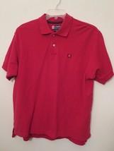 Chaps Ralph Lauren Men's M Golf / Polo Shirt Red Short Sleeve In Great S... - $7.93