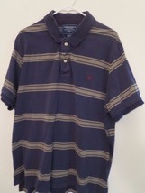 AMERICAN EAGLE Men's Size XXL Short Sleeve Striped GOLF / POLO SHIRT ( E... - $199,52 MXN
