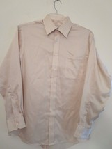 Joseph Abboud Men's Size 16-1/2, 34/35 Beige Dress Shirt (Excellent Cond... - $15.16 CAD
