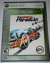 XBOX 360 - BURNOUT Paradise - EA (Complete with Manual) - $10.00
