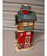 "Kurt S. Adler Gingerbread Cafe House and Light 10-1/2"" tall - $31.68"