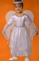 ANGEL SIZE 2T with WINGS & HALO COSTUME - $16.00