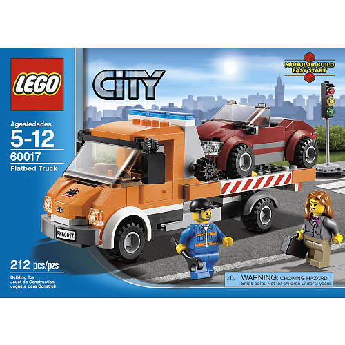 Lego city 60017 flatbed truck a