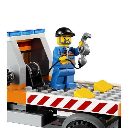 Lego City 60017 - Flatbed Truck Set