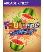 Fruit Ninja Arcade Kinect, xbox 360 game Full d... - $6.44