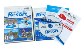 Wii Sports Resort (Wii, 2009) Complete CIB with Inserts Tested - $27.71
